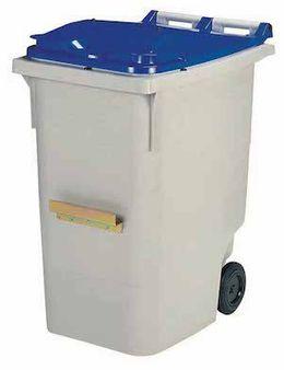 Mülltonne aus Kunststoff aus reinem Polyethylen mit hoher Dichte von Rossignol – Bild 8