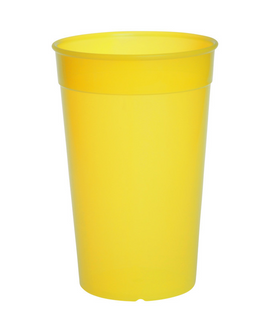 Plastic reusable cup colorful 0,2l - 0,5l light and versatile – Bild 1