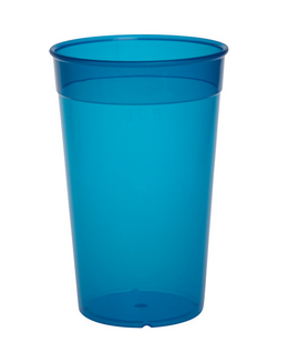 Plastic reusable cup colorful 0,2l - 0,5l light and versatile – Bild 5