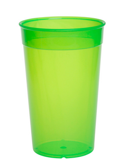 Plastic reusable cup colorful 0,2l - 0,5l light and versatile – Bild 3