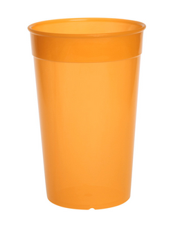 Plastic reusable cup colorful 0,2l - 0,5l light and versatile – Bild 4