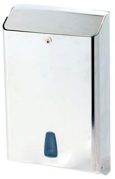 Marplast Towelinox Papierhandtuchspender aus Edelstahl zur Wandmontage MP 800