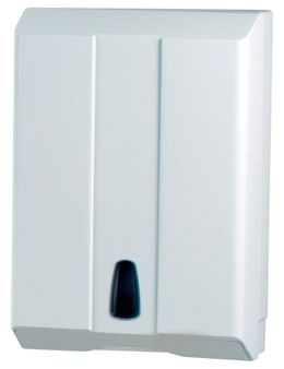 Marplast papertowel dispenser white MP504 made of plastic wall mounting