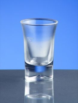 Shot glass frosted 2cl B52 SAN of plastic very robust and reusable – Bild 2