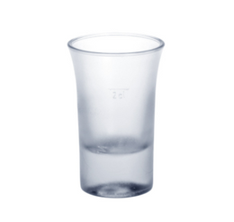 Shot glass frosted 2cl B52 SAN of plastic very robust and reusable – Bild 1