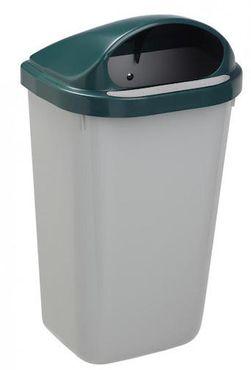 Rossignol Xerios wandbefestigter Abfallbehälter 50L aus Polypropylen-Kunststoff – Bild 4