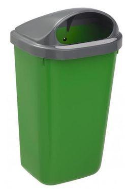 Rossignol Xerios wandbefestigter Abfallbehälter 50L aus Polypropylen-Kunststoff – Bild 3