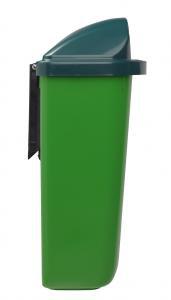 Rossignol Xerios wandbefestigter Abfallbehälter 50L aus Polypropylen-Kunststoff – Bild 5