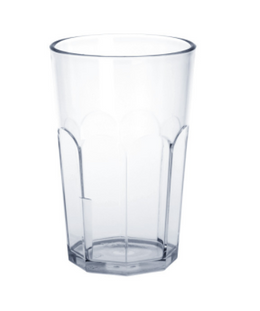 Caipirinha-Glass partly frosted 0,2l - 0,3l SAN plastic dishwasher safe – Bild 1