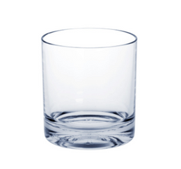 Whiskey-Glass SAN of Plastic with extra thick bottom – Bild 1