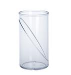 Waterglas 0,25l SAN kristal helder van kunststof herbruikbaar