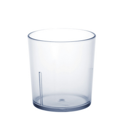 Universal Cup frosted 0,2l SAN of plastic