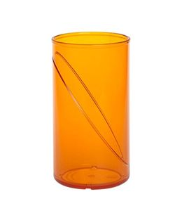 Water glass 0,25l SAN of plastic reusable – Bild 3