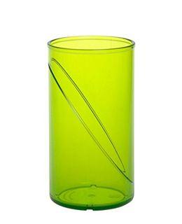 Wasserglas 0,25l SAN aus Kunststoff wiederverwendbar – Bild 2