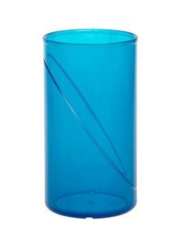 Water glass 0,25l SAN colorful of plastic reusable in different colors – Bild 5