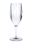 Plastic wine glass Vinalia 1/8l SAN crystal clear reusable dishwasher safe