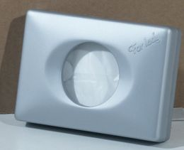 Womenhygiene dispenser in white chrom or satin – Bild 3