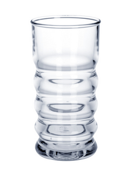 Samba Queen drinking cup 0,2l SAN of plastic crystal clear – Bild 1
