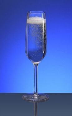 Reusable Champagnerglass 0,1l PC of plastic – Bild 2