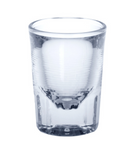 Easy Shot glass 4cl crystal clear of plastic