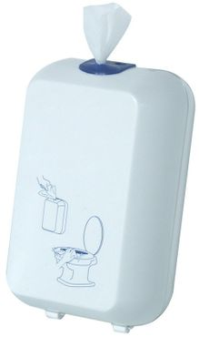 Toilet seat cleaning cloth dispenser MP 689 made of plastic – Bild 1