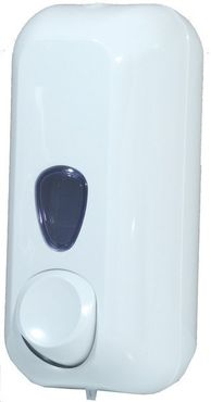 Marplast soap dispenser white MP 714 made of plastic for wall mounting