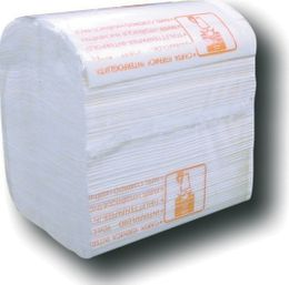 Einzelblatt Toilettenpapier 2-lagig Zellstoff