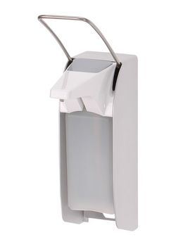Ophardt ingo-man® plus soap & disinfectant dispenser 500ml made of stainless steel – Bild 3