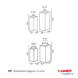 Ophardt ingo-man® OP Bottles 109100-1413886-21960-207203 (500ml) – Bild 2