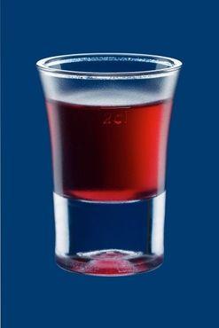 Schnapsglas 2cl B52 SAN gefrostet aus Kunststoff wiederverwendbar – Bild 2