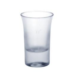 Schot glas 2cl B52 SAN matte van kunststof herbruikbaar – Bild 1