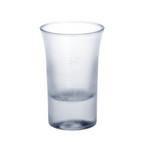 Schot glas 2cl B52 SAN matte van kunststof herbruikbaar