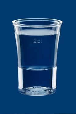 Shot glass 2cl SAN crystal clear of plastic reusable – Bild 2