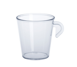 Espresso cup 0,2l SAN of plastic reusable – Bild 2