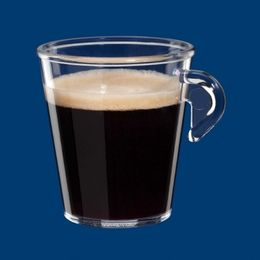 Espresso cup 0,1l SAN of plastic reusable – Bild 3