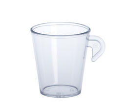 Espresso cup 0,1l SAN of plastic reusable – Bild 1