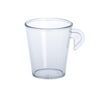 Espresso cup 0,1l SAN of plastic reusable