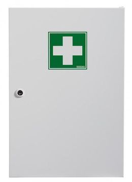 Rossignol Clinix medicine cabinet from epoxy powder coated steel with 1 door – Bild 2