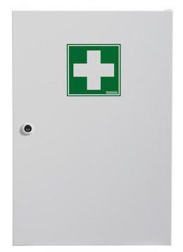 Rossignol Clinix Medizinschrank aus epoxydpulverbeschichtetem Stahl mit 1 Tür – Bild 2
