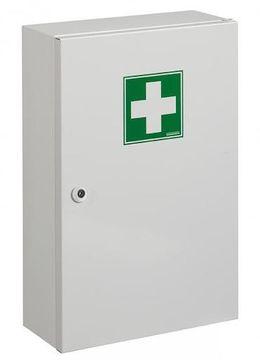 Rossignol Clinix Medizinschrank aus epoxydpulverbeschichtetem Stahl mit 1 Tür – Bild 1