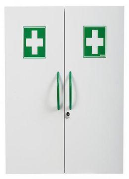 Rossignol Clinix Medizinschrank mit 2 Türen und Magnetverschluss/Schlüsselverrieglung – Bild 2