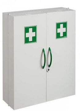 Rossignol Clinix medicine cabinet with 2 doors and magnetic lock / key lock – Bild 1