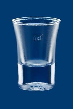 20er Set Schnapsglas 2cl B52 SAN gefrostet aus Kunststoff wiederverwendbar – Bild 3