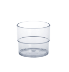 20 piece Set Allround Cup 0,2l SAN crystal clear of plastic – Bild 1