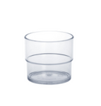 20 piece Set Allround Cup 0,2l SAN crystal clear of plastic