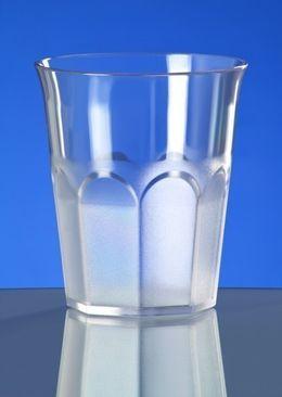 12er Set Caipirinha-Glas teilgefrostet 0,2l SAN Kunststoff Spülmaschinenfest – Bild 2