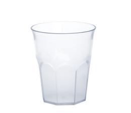 12er Set Caipirinha-Glas teilgefrostet 0,2l SAN Kunststoff Spülmaschinenfest – Bild 1