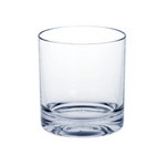 10 piece Whiskey-Glass SAN of Plastic with extra thick bottom