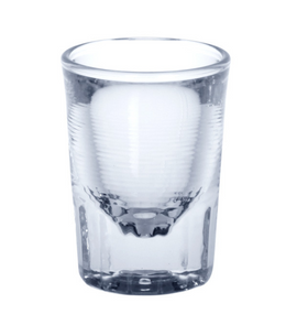 6 piece Easy Shot glass 4cl crystal clear of plastic – Bild 1