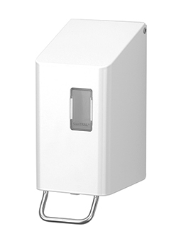 Ophardt SanTRAL classic NSU 2 Soap Dispenser 250ml powder coated white – Bild 1